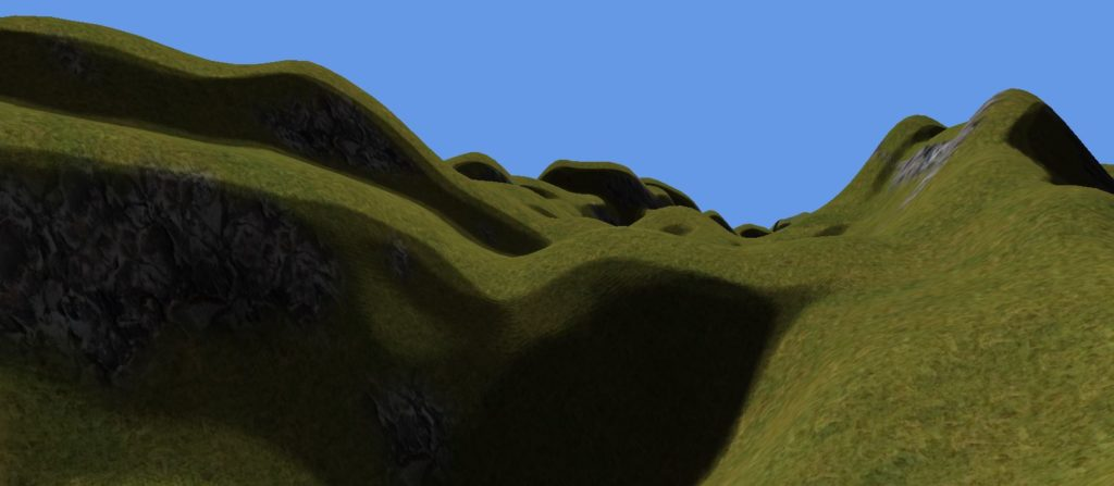 Explore engine terrain example